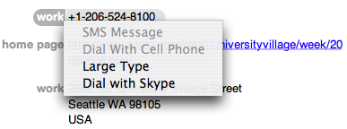 address book skype