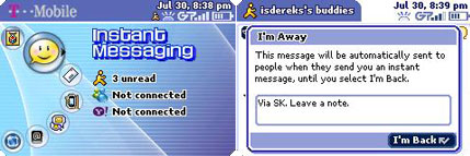 sidekick instant messaging