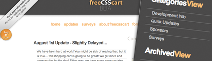 freecsscart v2 theme