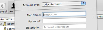 ichat account setup
