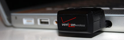 Verizon Wireless EVDO V640 ExpressCard
