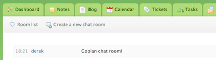 Medium thumbnail of Goplan chat room